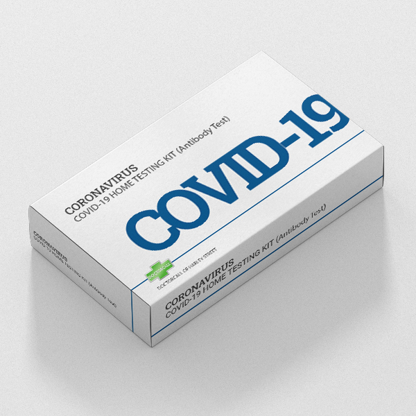 Coronavirus Covid-19 Antibody Home Test Kit Swab